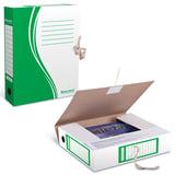 Папка архивная с завязками А4 (325х260 мм), 75 мм, до 700 листов, плотная, микрогофрокартон, ЗЕЛЕНАЯ, BRAUBERG, 124851
