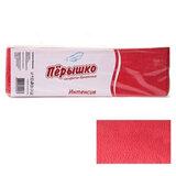 """Салфетки бумажные, 400 шт., 24х24 см, """"Перышко"""" Big Pack, красные интенсив, сырье Италия, 125256"""