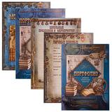 Листы-вкладыши для портфолио школьника, 25 разделов, 30 листов, для мальчиков, ПОРТ-4