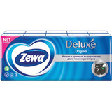 Платки носовые ZEWA Delux, 3-х слойные, 10 шт. х (спайка 10 пачек), 51174