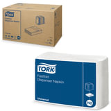 Салфетки TORK (Система N2) Fastfold, комплект 36 шт., 25х30 см, 250 шт., белые, 10903