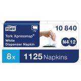 Салфетки TORK (Система N4) Xpressnap Universal, КОМПЛЕКТ 5 шт., 225 шт., белые, 10840