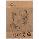 Альбом для эскизов, тонированная бумага, А4, 210х297 мм, 100 г/м<sup>2</sup>, без кислот, 120 л., VISTA-ARTISTA, SSB