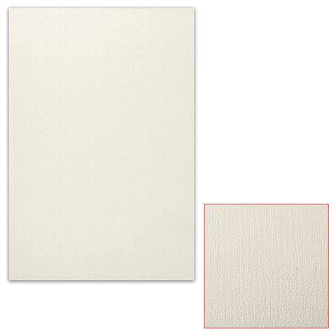 Картон белый грунтованный для масляной живописи, 50х70 см, односторонний, толщина 1,25 мм, масляный грунт