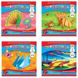 Цветная бумага для оригами, 8 цветов, АППЛИКА, 300х300 мм, С0326
