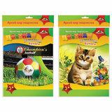 Цветная бумага А4 БАРХАТНАЯ, 5 листов 5 цветов, в папке, АППЛИКА, 205х295 мм, Ассорти, С2529