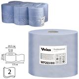 Бумага протирочная/полотенца VEIRO (W1/W2/W3), комплект 6 шт., 175 м, с центральной вытяжкой, 2-слойная, Comfort, WP203