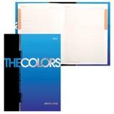 """Блокнот 7БЦ, А5, 80 л., металлик, 5-цветный блок, HATBER, """"The Colors"""", 80ББ5мтВ1 14480, B211175"""