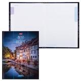 """Блокнот 7БЦ, А5, 80 л., обложка ламинированная, 5-цветный блок, HATBER, """"Best Travel"""", 80ББ5В1 14278, B197219"""