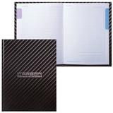 """Блокнот 7БЦ, А5, 80 л., обложка ламинированная, 5-цветный блок, HATBER, """"Carbon Style"""", 80ББ5В1 14359, B211151"""