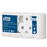 Бумага туалетная TORK (Система Т4), 2-слойная, спайка 8 шт. х 23 м, Premium, 120320