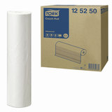 Простыни бумажные медицинские 50 м, TORK (Система C1) Advanced, комплект 9 шт., 2-слойные, белые, 37,8х50 см, 125250