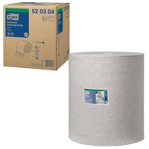 Протирочный нетканый материал TORK (Система W1), Premium, 950 листов в рулоне, 38х43 см, 520304
