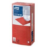 Салфетки TORK Big Pack, 24х23,8, 200 шт., 2-х слойные, красные, 477826