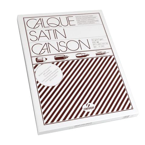 Калька CANSON Microfine, А3, 90 г/м<sup>2</sup>, пачка 250 л., белая, 200017310