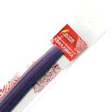 Бумага для квиллинга &quot;Фиолетовый микс&quot;, 5 цветов, 125 полос, 3 мм х 300 мм, 130 г/м<sup>2</sup>, ОСТРОВ СОКРОВИЩ, 128732