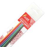 """Бумага для квиллинга """"Цветная глазурь"""", 24 цвета, 120 полос, 5 мм х 300 мм, 130 г/м<sup>2</sup>, ОСТРОВ СОКРОВИЩ, 128736"""