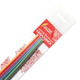 Бумага для квиллинга &quot;Цветная глазурь&quot;, 24 цвета, 120 полос, 7 мм х 300 мм, 130 г/м<sup>2</sup>, ОСТРОВ СОКРОВИЩ, 128737