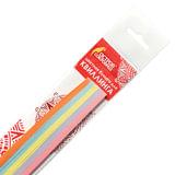 Бумага для квиллинга &quot;Базовые цвета&quot;, 5 цветов, 250 полос, 3 мм х 300 мм, 80 г/м<sup>2</sup>, ОСТРОВ СОКРОВИЩ, 128746