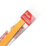 Бумага для квиллинга желтая, 125 полос, 3 мм х 300 мм, 130 г/м<sup>2</sup>, ОСТРОВ СОКРОВИЩ, 128756