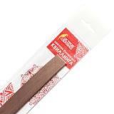 Бумага для квиллинга коричневая, 125 полос, 3 мм х 300 мм, 130 г/м<sup>2</sup>, ОСТРОВ СОКРОВИЩ, 128759