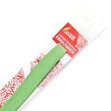 Бумага для квиллинга светло-зеленая, 125 полос, 3 мм х 300 мм, 130 г/м<sup>2</sup>, ОСТРОВ СОКРОВИЩ, 128763