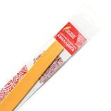 Бумага для квиллинга &quot;Желтый банан&quot;, 125 полос, 5 мм х 300 мм, 130 г/м<sup>2</sup>, ОСТРОВ СОКРОВИЩ, 128766