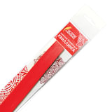 Бумага для квиллинга огненно-красная, 125 полос, 5х300 мм, 130 г/м<sup>2</sup>, ОСТРОВ СОКРОВИЩ, 128768