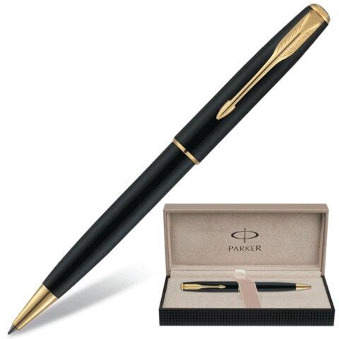 Ручка шариковая PARKER Sonnet Matte Black GT, S0818000