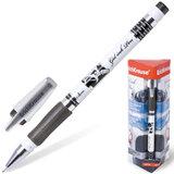 """Ручка гелевая ERICH KRAUSE """"ROBOGEL"""", с резиновым упором, 0,5 мм, черная, 19943"""
