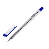 """Ручка шариковая масляная ERICH KRAUSE """"Ultra-20"""", СИНЯЯ, корпус прозрачный, узел 0,7 мм, линия письма 0,26 мм, 13875"""