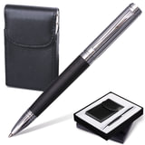 """Набор GALANT """"Prestige Collection"""": ручка, визитница, черный, подарочная коробка, 141371"""