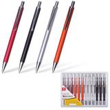 "Ручка бизнес-класса шариковая BRAUBERG ""Ice"", корпус ассорти, серебристые детали, 1 мм, синяя, 141421"