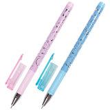 """Ручка гелевая BRAUBERG """"Elegant"""", ЧЕРНАЯ, корпус ассорти, игольчатый узел 0,5 мм, линия письма 0,38 мм, 141550"""