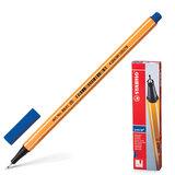 """Ручка капиллярная STABILO """"Point"""", корпус оранжевый, толщина письма 0,4 мм, синяя, 88/41"""