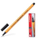 """Ручка капиллярная STABILO """"Point"""", корпус оранжевый, толщина письма 0,4 мм, черная, 88/46"""