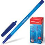 """Ручка шариковая ERICH KRAUSE """"R-101"""", СИНЯЯ, корпус тонированный синий, узел 1 мм, линия письма 0,5 мм, 33511"""