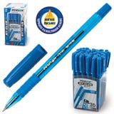 """Ручка шариковая масляная PENSAN """"My-Club"""", игольчатый узел 0,7 мм, линия 0,35 мм, резиновый упор, синяя, 2232"""