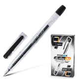 """Ручка гелевая PENSAN """"My-King"""", корпус прозрачный, игольчатый узел 0,5 мм, линия 0,3 мм, черная, 2227"""