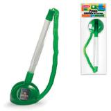 """Ручка шариковая настольная BEIFA (Бэйфа) """"СтопПен"""", корпус прозрачный/зеленый, линия 0,7 мм, синяя, AP8863-GR"""