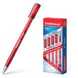 """Ручка гелевая ERICH KRAUSE """"G-Tone"""", КРАСНАЯ, корпус тонированный красный, узел 0,5 мм, линия письма 0,4 мм, 17811"""