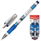 """Ручка гелевая ERICH KRAUSE """"ROBOGEL"""", с резиновым упором, толщина письма 0,5 мм, синяя, 19942"""