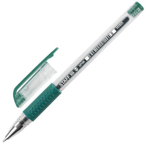 Ручка гелевая с грипом STAFF