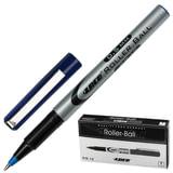 Ручка-роллер LACO (ЛАКО, Германия), корпус серый, узел 0,7 мм, линия письма 0,5 мм, синяя, RB 12