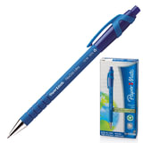 """Ручка шариковая PAPER MATE автоматическая """"Flexgrip Ultra RT"""", корпус синий, 1 мм, синяя, S0190433"""