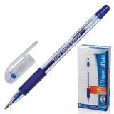 "Ручка гелевая PAPER MATE ""PM 300"", корпус прозрачный, узел 1 мм, линия 0,7 мм, синяя, S0929360"