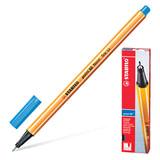 """Ручка капиллярная (линер) STABILO """"Point 88"""", УЛЬТРАМАРИН, корпус оранжевый, линия письма 0,4 мм, 88/32"""