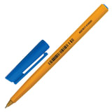 """Ручка шариковая STAEDTLER (Германия) """"Stick"""", Синяя, корпус желтый, узел 0,8 мм, линия письма 0,25 мм, 430 F-3"""