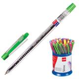 """Ручка шариковая масляная CELLO """"Slimo"""", детали ассорти, узел 0,7 мм, линия 0,5 мм, синяя, 305088020"""