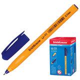 "Ручка шариковая масляная ERICH KRAUSE ""Ultra Glide U-11"", СИНЯЯ, корпус желтый, узел 0,7 мм, линия письма 0,35 мм, 37055"